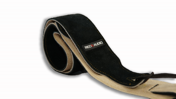 suede leather guitar strap