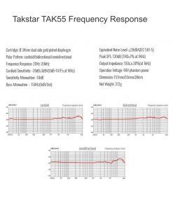 takstar-tak55-frequency-response